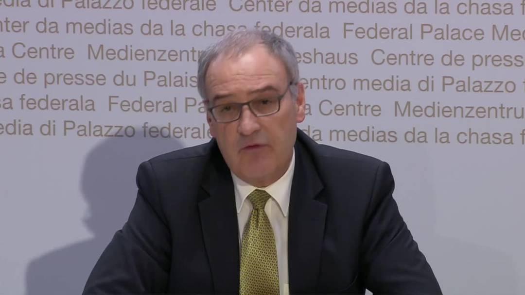 Bundesrat stellt der Wirtschaft 10 Milliarden Franken zur Verfügung (13.3.2020)