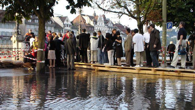 Hochwasser wie anno 2005 kann nicht mehr ausgeschlossen werden