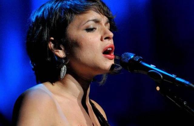 Norah Jones, Soul- und Jazz-Sängerin.