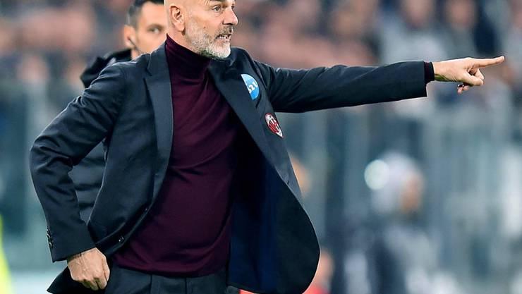 Auch unter Stefano Pioli kommt die AC Milan nicht in Fahrt