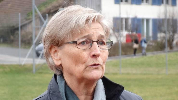 Magdens Gemeindeammann Brunette Lüscher