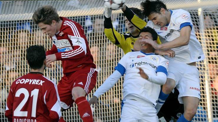 Der FCZ im Badener Stadion Esp: Das gab es zuletzt im Cup 1/8-Finalspiel FC Baden – FC Zürich am 9. November 2013.