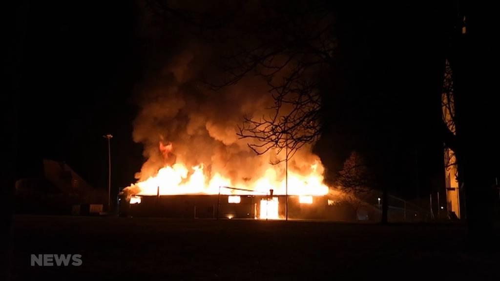 Schönbühl: Flammen zerstören Teile einer Schreinerei
