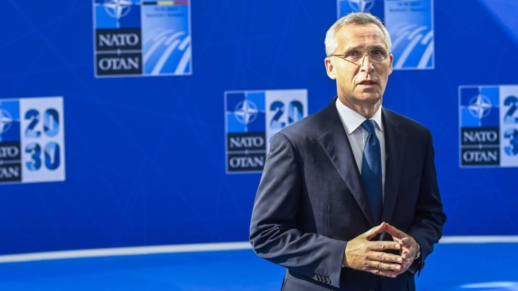 Nato-Generalsekretär warnt kurz vor Gipfelbeginn vor China