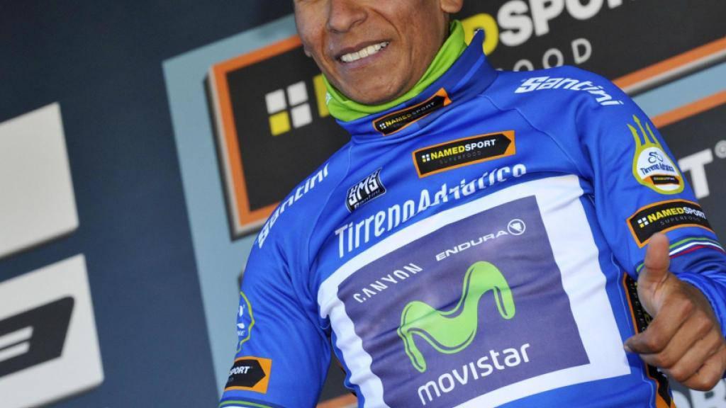 Doppelschlag von Nairo Quintana am Tirreno