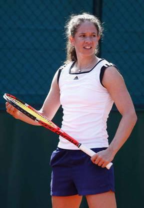 2011 beim Training in Roland Garros
