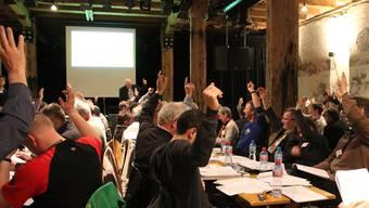 Die Mitglieder der Regionalkonferenz Jura Ost absolvierten ein Abstimmungsmarathon.