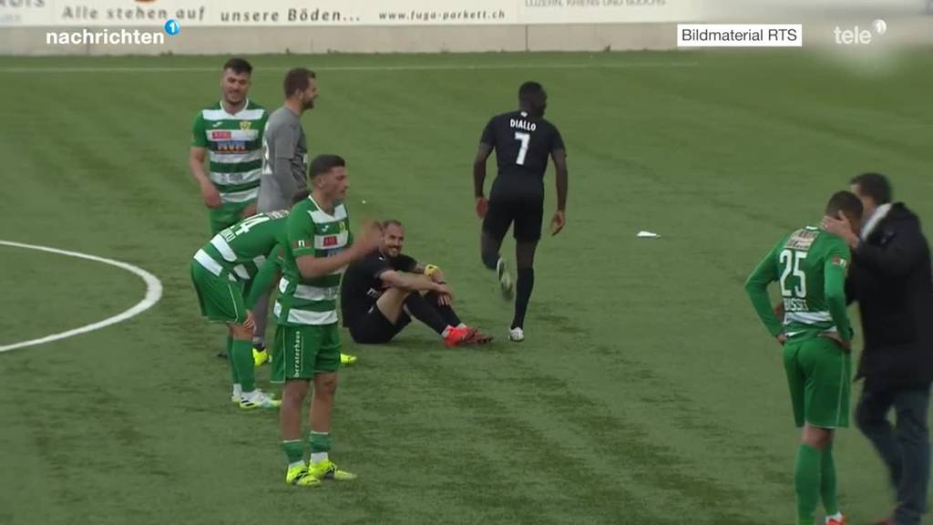 Cup-Viertelfinal SC Kriens gegen Servette