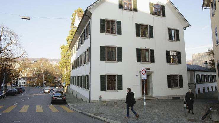 Der Sitz der Schweizer Kulturstiftung Pro Helvetia in Zürich.