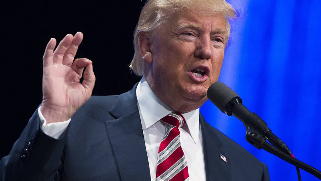 Der republikanische Kandidat Donald Trump (im Bild) bekommt Unterstützung von Rivalen. Senator Ted Cruz will ihn nun doch unterstützen.