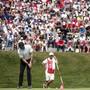 Abertausende von Golffans verfolgen den Superstar Rory McIlroy auf den Fairways und Greens von Crans-Montana