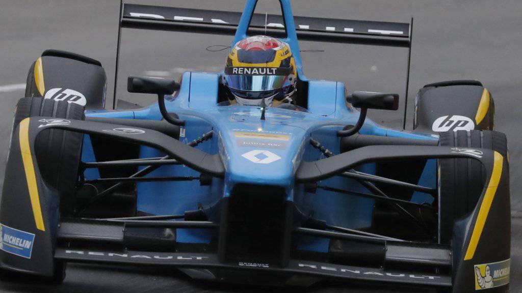 Sébastien Buemi in seinem e.dams Renault