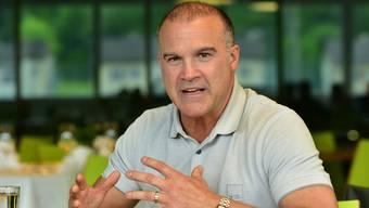 EHCO-Trainer Maurizio Mansi sieht sich als kommunikativer Headcoach: «Ich bin hart, aber immer fair.»