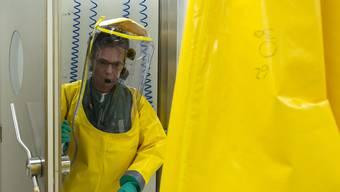Das Labor in Spiez ist unter anderem auch auf die Untersuchung von chemischen Kampfstoffen spezialisiert.