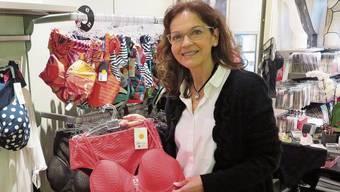 Andrea Gassl konnte in ihrem Ladenlokal in Bremgarten auf eine treue Stammkundschaft zählen.