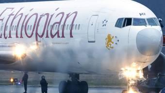 An Bord der nach Genf umgeleiteten Maschine der Ethiopian Airlines befanden sich mehr als 200 Personen. (Archivbild).