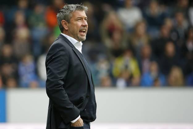 FCB-Trainer Urs Fischer hatte nicht viel zu Lachen beim 0:4 in Luzern