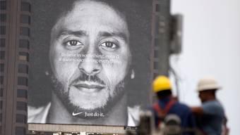 Colin Kaepernick ist seit dieser Woche das Gesicht einer Nike-Werbekampagne.Key