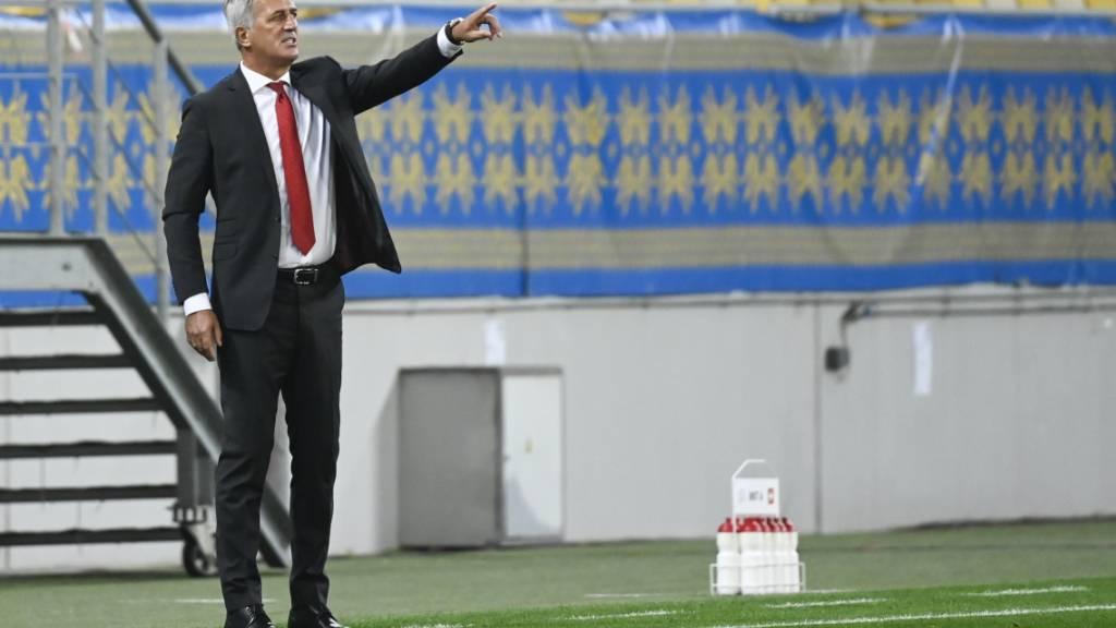 Vladimir Petkovic zeigte sich mit der Leistung seiner Mannschaft zufrieden, nicht aber mit dem Resultat