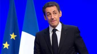 Nicolas Sarkozy sieht sich als Retter in der Not. Lionel Bonaventure/keystone