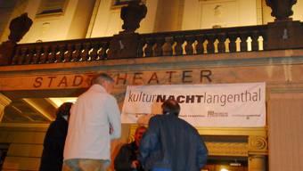 Das Stadttheater und sechs weitere Institutionen beteiligen sich an der 5. Langenthaler Kulturnacht