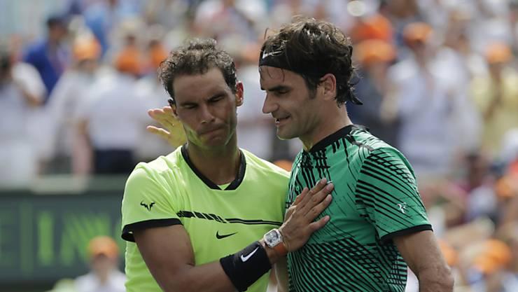 Roger Federer und Rafael Nadal: Head-to-Head: 15:23.