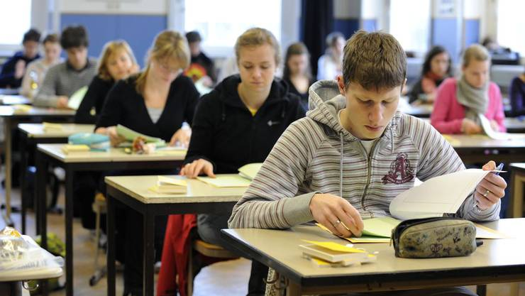 Tessiner Schüler hatten nicht so eine schwere Prüfung abzulegen. (Archiv)