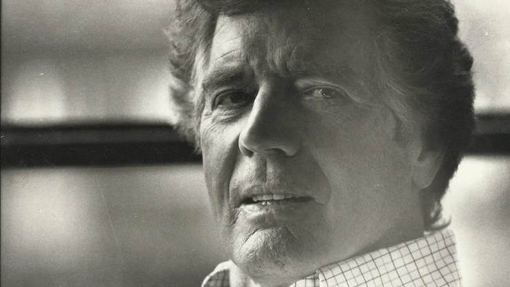Der Schauspieler Paul Hubschmid (1917–2002), aufgenommen ca. 1972 von seinem Sohn Peter Hubschmid.