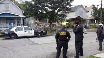Das Haus von Ariel Castro in Cleveland wird abgerissen