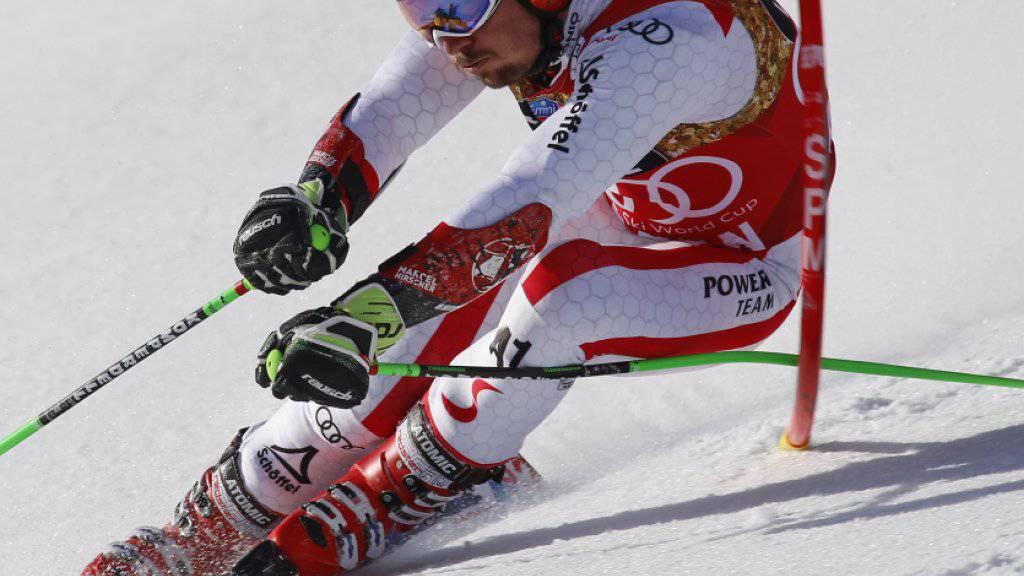 Marcel Hirscher - der Beste gewinnt auch in Aspen