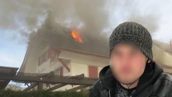 Der Kosovare muss wegen Brandstiftung 3½ Jahre ins Gefängnis und wird für zehn Jahre aus der Schweiz verwiesen.