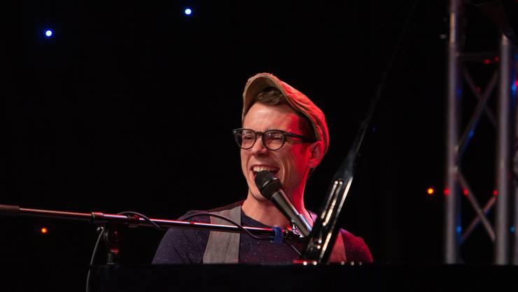 Sven Garrecht ist auch beim Kabarett-Casting dabei.