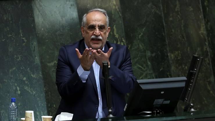 Vom iranischen Parlament geschasst: Präsident Rohanis Finanzminister Masoud Karbasian.