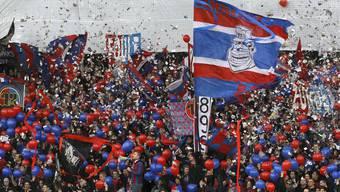 Der FC Basel bittet zur Meisterfeier