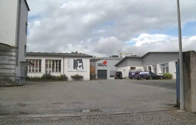 Das Industriegebiet in Dottikon, wo der Aargauer Sex-Sadist Frauen missbrauchte.