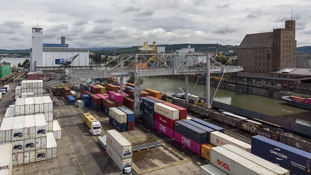 Exporte legen zum dritten Mal in Folge zu. (Symbolbild)