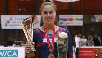 Giulia Steingruber holt Mehrkampf-Titel