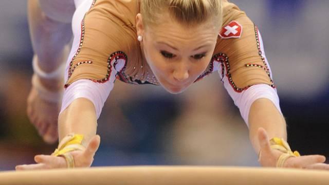 Schweizer Team mit Kaeslin EM-Sechste