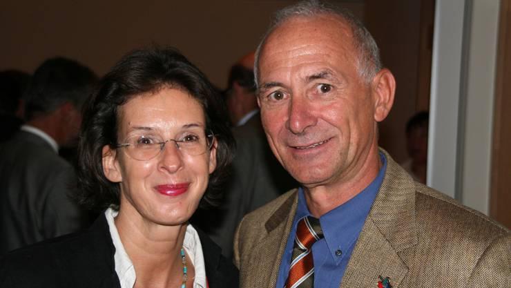 Neuzuzüger: Katharina Brass und Manfred Trösch. (Bild: Peter Belart)