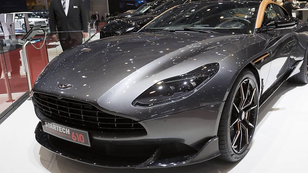 Aston Martin schreibt tiefrote Zahlen und hofft auf Besserung