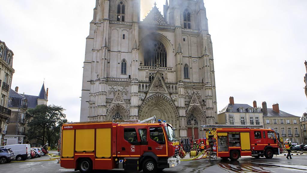Ein Mann, der im Zusammenhang mit dem Brand in Nantes in Polizeigewahrsam genommen worden war, ist wieder frei. (Archivbild)
