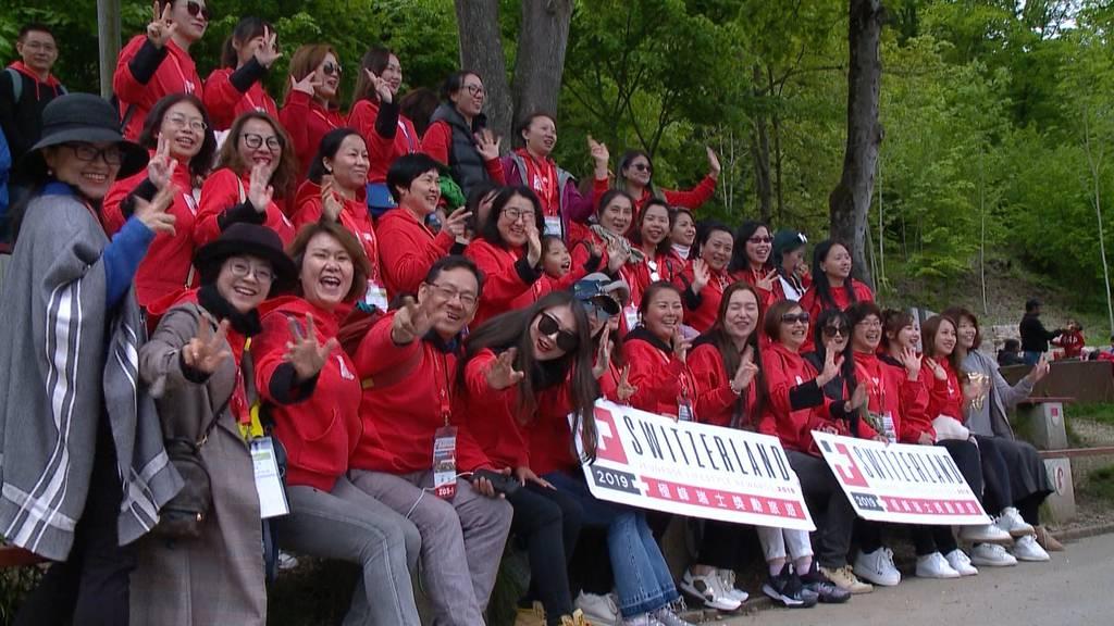 Luzern wegen 4'000 Chinesen im Ausnahmezustand