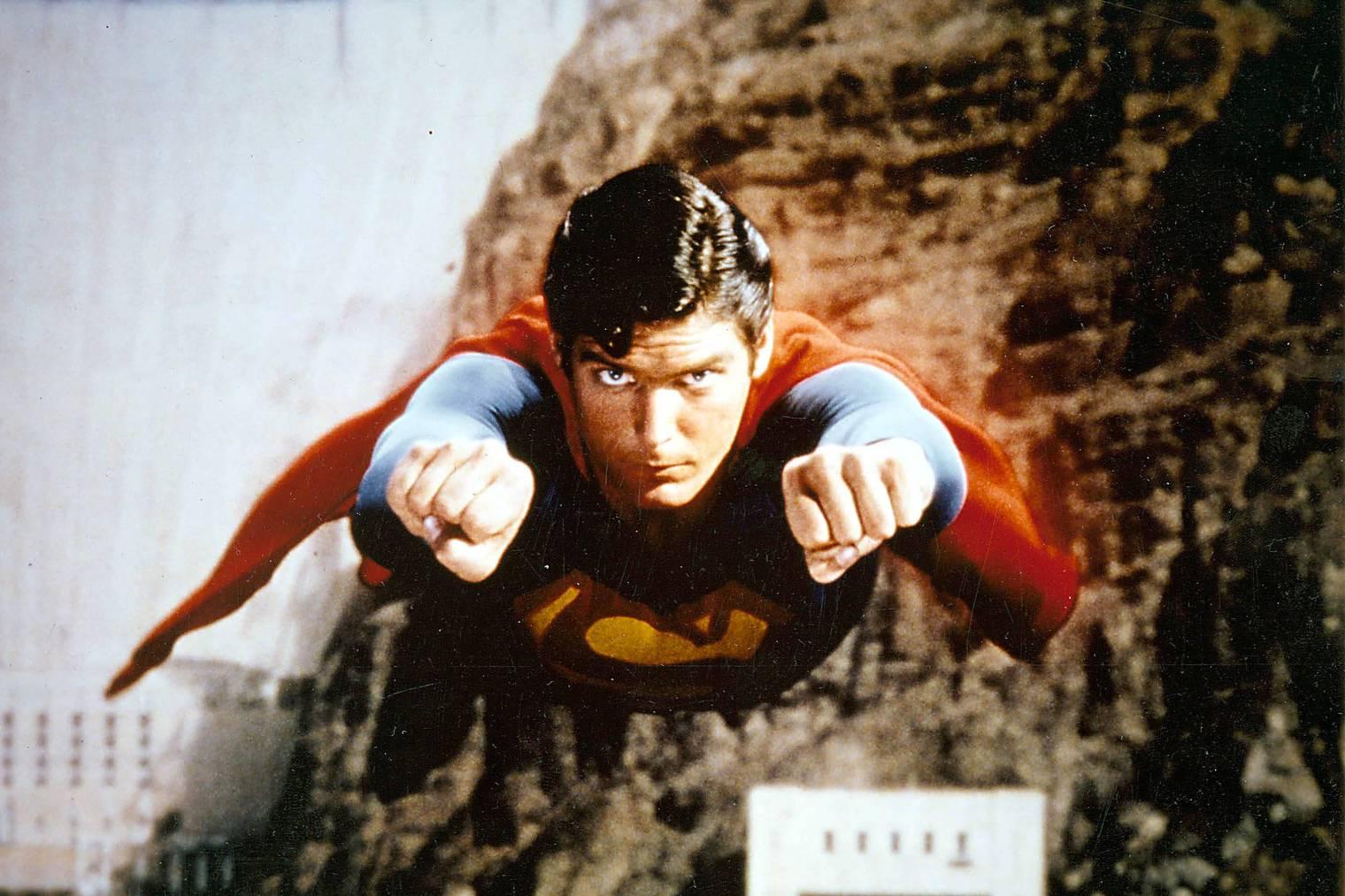 Christopher Reeve war für eine ganze Generation der wahre Superman.