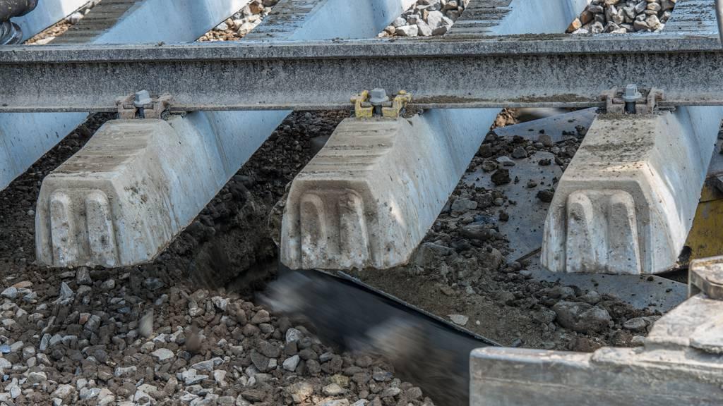 44-Jähriger bei Gleisarbeiten verunfallt und verstorben