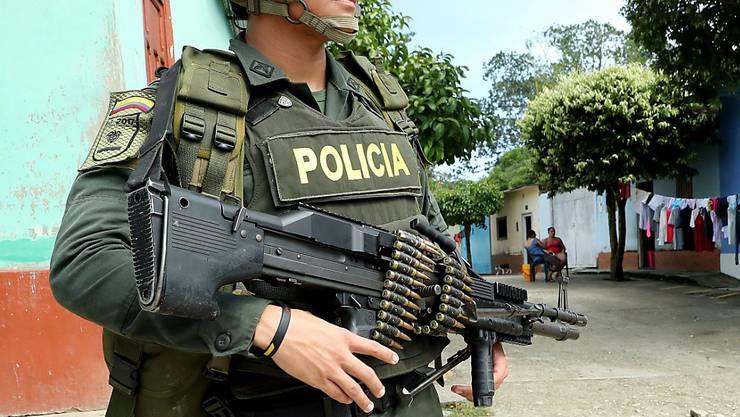 Kolumbianische Militärs töteten an der Grenze zu Venezuela einer der mächtigsten Drogenbosse des Landes. (Symbolbild)