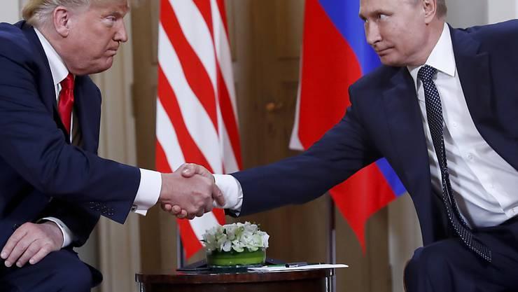 """""""Ich mag diese Aggression nicht"""", sagte US-Präsident Donald Trump mit Blick auf die neuen Vorfälle im Schwarzen Meer vor der Halbinsel Krim. Ein Treffen mit Wladimir Putin ist in Gefahr. (Archivbild)"""