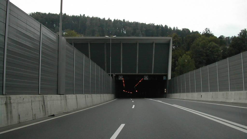 Tödlicher Verkehrsunfall im Sonnenbergtunnel