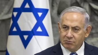 Israels Regierungschef Netanjahu ist krank ins Spital gebracht worden. (Archiv)