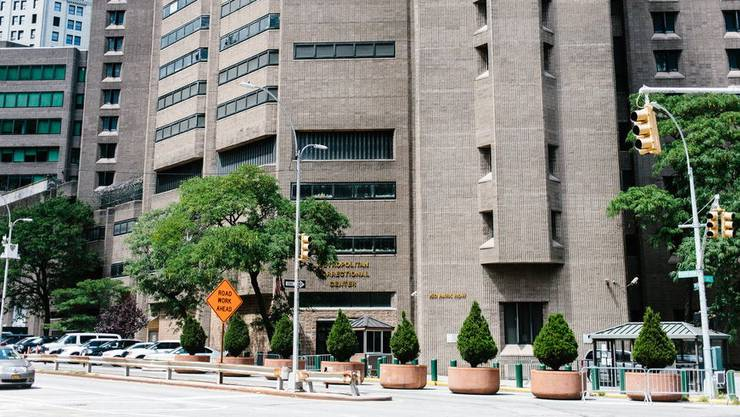 Das Manhattan Correctional Center in New York. Hier starb Jeffrey Epstein.