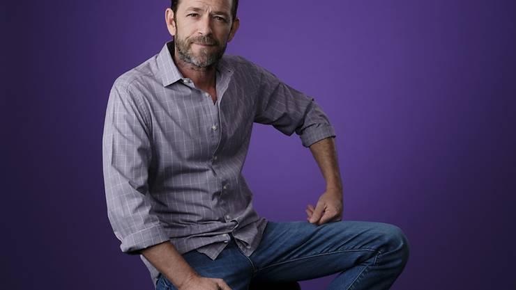 Schauspieler Luke Perry soll gemäss US-Medienberichten einen schweren Schlaganfall erlitten haben. (Archivbild)